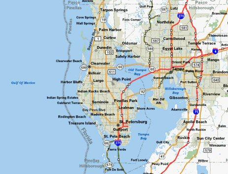 Florida Service Areas